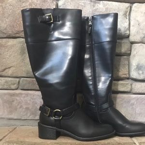 Chaps knee high riding boots Women's size 8.5
